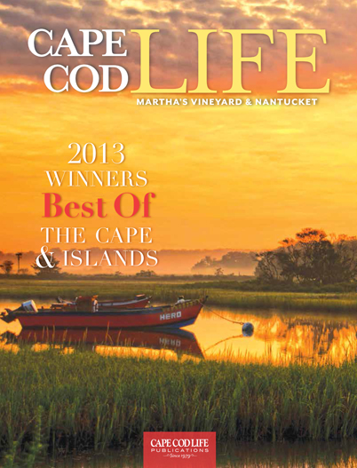 Vu Design was voted BEST Interior Design firm for 2013 by readers of Cape Cod Life magazine.