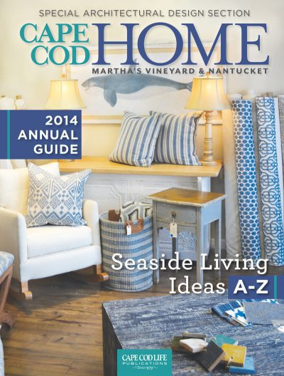Vu Design was featured in Cape Cod Home magazine's 2014 issue.