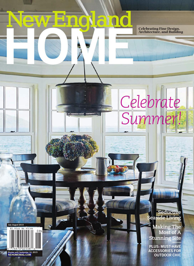 Vu Design's Professional Profile was featured in New England Home magazine's August 2015 issue.